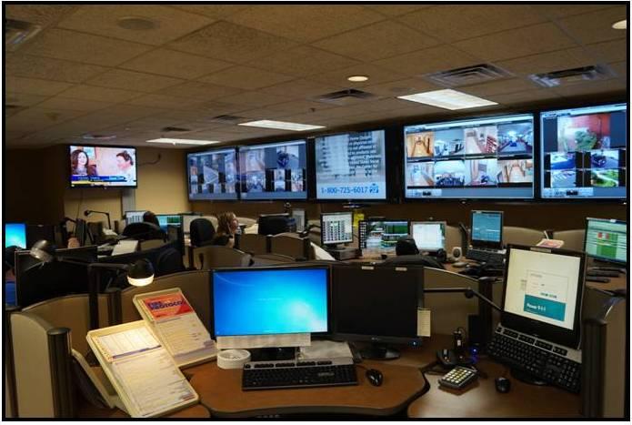 911 center interior